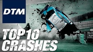 DTM Top 10 Crashes