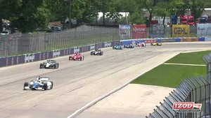2013 IndyCar Practice 2 at The Milwaukee Mile