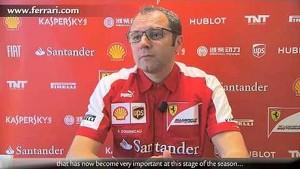 German Grand Prix - Stefano Domenicali, about race