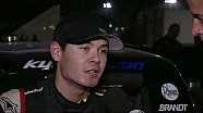 Post-race interview with Kyle Larson and Ryan Newman at Eldora