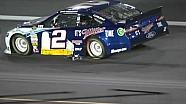NASCAR Brad Keselowski drags jack onto the track   Charlotte Motor Speedway