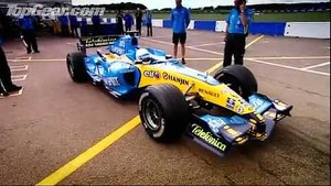 Richard Hammond drives F1 Car!