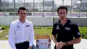 Tweetbox with Simon Pagenaud and Mikhail Aleshin.  Ep. 1 Long Beach