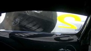 Tarquini's Hood Flies Up - Narrowly Avoids Disaster