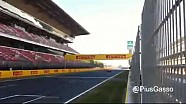 F1 2014 Mercedes new exhaust sound low speed