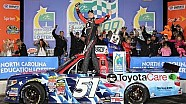 Victory Lane: Kyle Busch wins NC Education Lottery 200