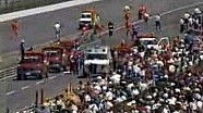 1989 Indianapolis 500 Kevin Cogan's Crash
