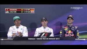 Monaco GP - Qualifying Press Conference