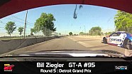 Detroit 2014 - Bill Ziegler On Board Highlights of Round 5 GT-A
