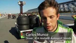 Honda HPD trackside IndyCar Pocono qualifying