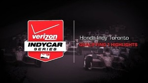 2014 Honda Indy Toronto Qualifying 1 Highlights