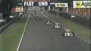 Derek Warwick massive shunt at the 1990 Italian GP