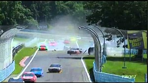 2014 Sprint Cup - Newman and McDowell HUGE CRASH! - Watkins Glen