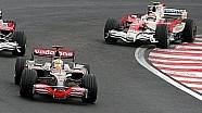 Last laps Brazil Grand Prix 2008 - F1