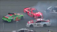 Danica triggers multi-car wreck - 2014 Michigan