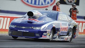Pro Stock driver Jason Line goes to the top in Indy NHRA