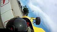 Doug Peterson Formula Race crash