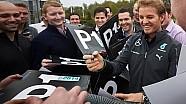 Nico Rosberg at the #W05LDCHAMPIONS Celebrations!
