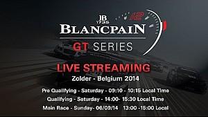 Blancpain Sprint Series - Main Race - Zolder - 2014
