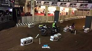 Tomac runs over Barcia following Genova Supercross crash