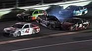 Choque de Stewart, Biffle y Busch en la vuelta 67