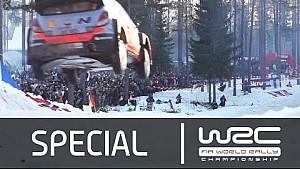 WRC Rally de Suecia 2015: Récord de 44 metros en salto de Neuville