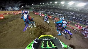 OnBoard with Davi Millsaps at Daytona supercross Main Event