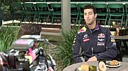 La folle semaine de Daniel Ricciardo à Melbourne