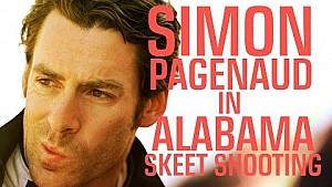 Alabama skeet shooting with Simon Pagenaud