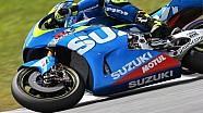 Suzuki aux essais MotoGP de Sepang