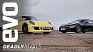 BMW i8 v Porsche 911