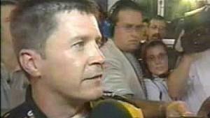 Ward Burton hablá después de Dale Earnhardt Jr. - 2002 Copa NASCAR Bristol