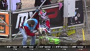 Ryan Villopoto choca en MXGP de Trentino 2015