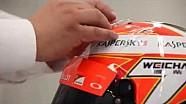 ¿Cómo se hace el casco de Kimi Raikkonen?