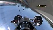 Helio Castroneves flip 2015 Indy 500 practice