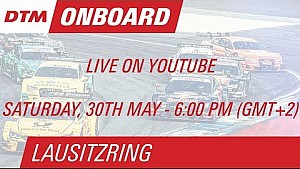 On Board LIVE - Gary Paffett - Lausitzring Course 1