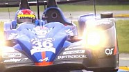 24 hours of Le Mans Test Day in Slow Motion