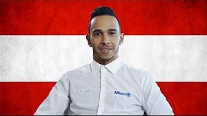 Lewis Hamilton 2015 Austrian Grand Prix Preview, with Allianz