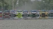 The start of Race 2 Slovakia... in slomo!