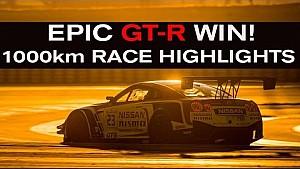 ¡Épica victoria GTR! Destacados de la carrera Paul Ricard 1,000 kilómetros BES 2015