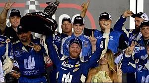 1-on-1: Fear in victory for Dale Jr. in Daytona