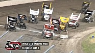 Highlights: World of Outlaws Sprint Cars Dodge City Raceway Park July 4th, 2015