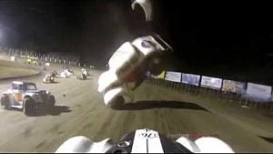 Legend Car crash - River Cities Speedway