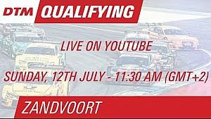 DTM - Zandvoort - Qualifications 2 LIVE