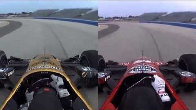 #INDYCAR: Graham Rahal vs Ryan Briscoe