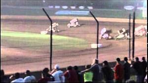 Desde la tribuna: Accidente Mundial de Outlaw en Beaver Dam Raceway