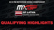 MXGP of Latvia MXGP Qualifying Race Highlights 2015