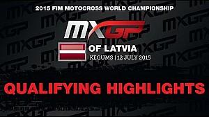 MXGP of Latvia MXGP Qualifying Race Highlights 2015