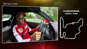 Hungarian GP - A lap of the track with Sebastian Vettel