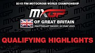 MXGP of Great Britain  Qualifying Race Higlights